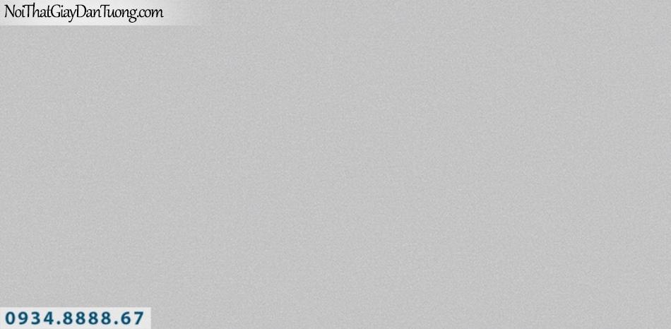 J100 2019 - 2020 | Giấy dán tường J100 mới | giấy gân trơn màu xám 9395-2
