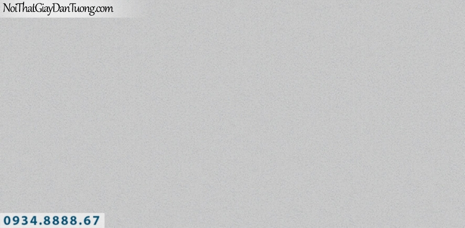 J100 2019 - 2020 | Giấy dán tường J100 mới | giấy gân trơn màu xám, không có hoa văn 9393-3
