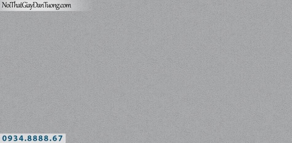 J100 2019 - 2020 | Giấy dán tường J100 mới | giấy gân trơn màu xám tối 9393-4