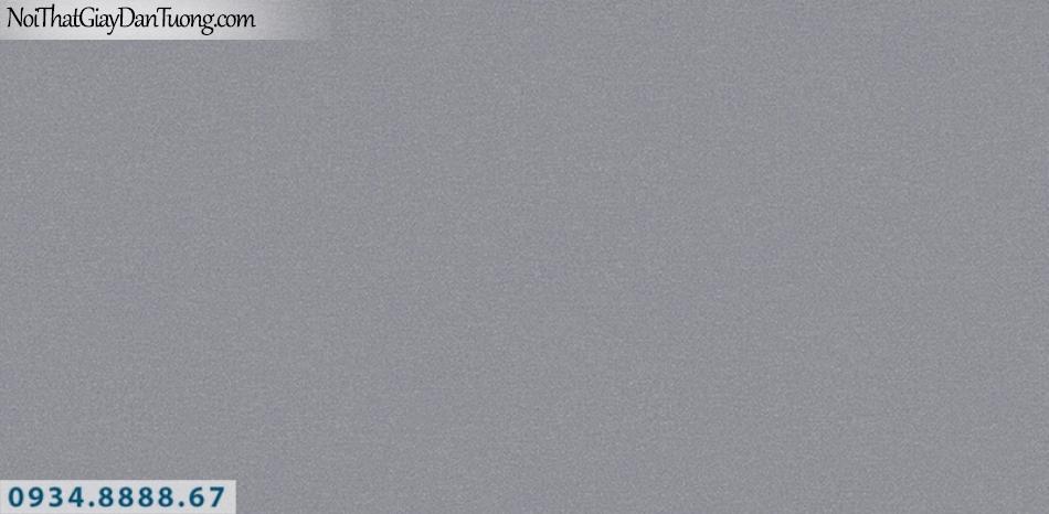 J100 2019 - 2020 | Giấy dán tường J100 mới | giấy gân trơn màu xám tối 9395-3