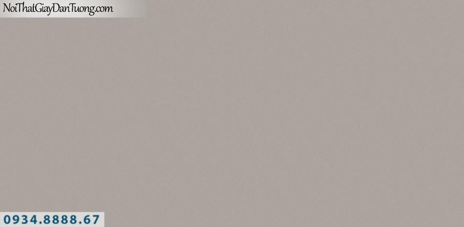 J100 2019 - 2020 | Giấy dán tường J100 mới | giấy trơn gân màu nâu đất 9394-4