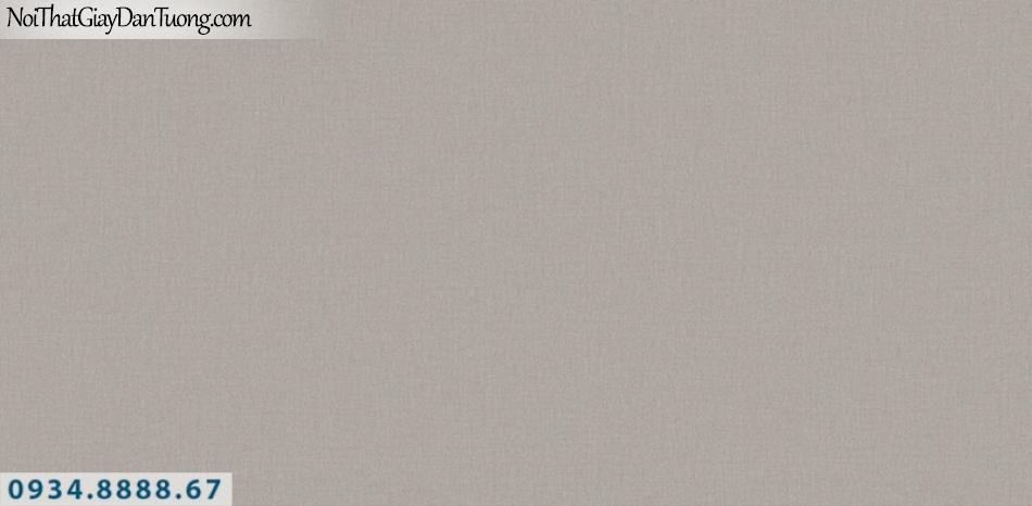 J100 2019 - 2020 | Giấy dán tường Hàn Quốc J100| giấy dán tường gân trơn màu nâu 9401-4