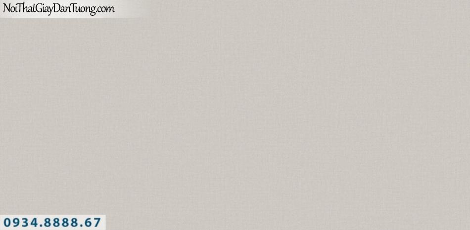 J100 2019 - 2020 | Giấy dán tường Hàn Quốc J100| giấy dán tường gân trơn màu nâu, màu xám 9401-3
