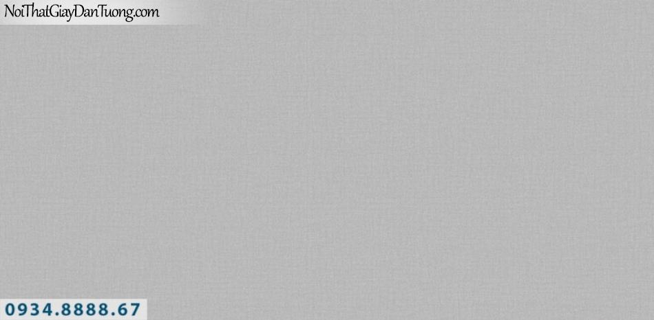 J100 2019 - 2020 | Giấy dán tường Hàn Quốc J100| giấy dán tường trơn gân màu xám 9401-8
