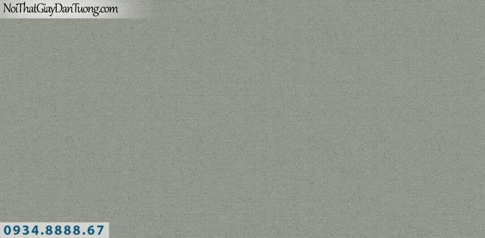 J100 2019 - 2020 | Giấy dán tường Hàn Quốc J100| giấy dán tường trơn gân màu xanh rêu 9402-4