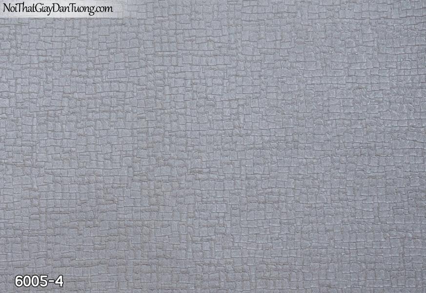 New Luck | Giấy dán tường New Luck 2019 - 2020 | giấy dán tường gân họa tiết ô vuông màu xám tím 6005-4