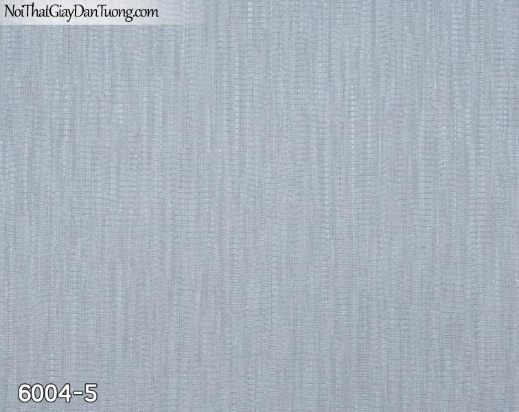 New Luck | Giấy dán tường New Luck 2019 - 2020 | giấy dán tường gân màu xám xanh 6004-5