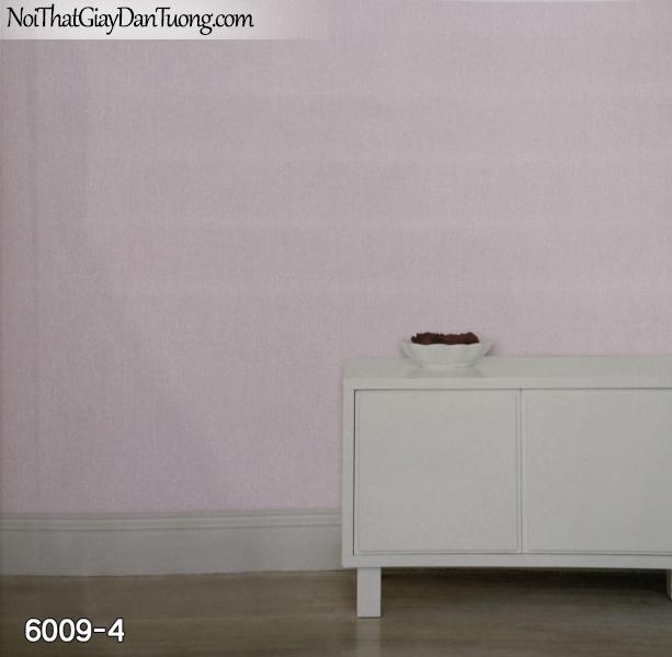 New Luck | Giấy dán tường New Luck 2019 - 2020 | giấy dán tường gân trơn màu hồng, màu tím 6009-4