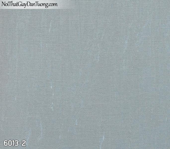 New Luck | Giấy dán tường New Luck 2019 - 2020 | giấy dán tường gân trơn màu xanh rêu 6013-2