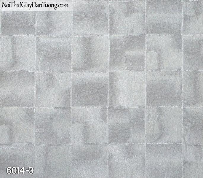 New Luck | Giấy dán tường New Luck 2019 - 2020 | giấy dán tường hình vô vuông màu xám 6014-3