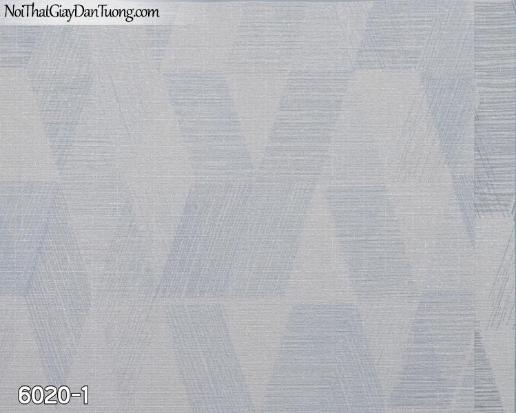 New Luck | Giấy dán tường New Luck 2019 - 2020 | giấy dán tường họa tiết hình thôi màu xanh dương nhạt 6020-1
