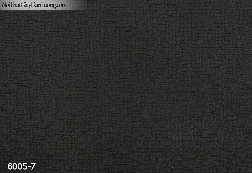 New Luck | Giấy dán tường New Luck 2019 - 2020 | giấy dán tường màu đen | họa tiết hình ô vuông nhỏ 6005-7