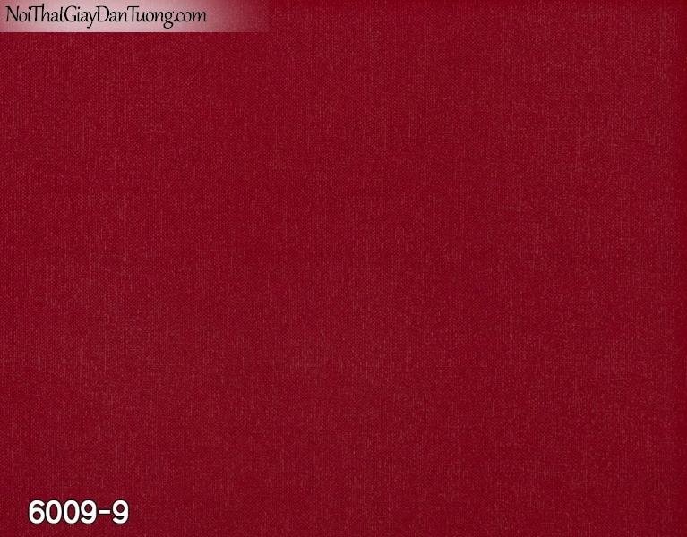 New Luck | Giấy dán tường New Luck 2019 - 2020 | giấy dán tường màu đỏ, gân trơn 6009-9