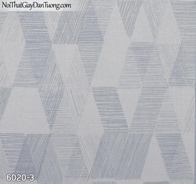 New Luck | Giấy dán tường New Luck 2019 - 2020 | giấy dán tường màu xám xanh 6020-3