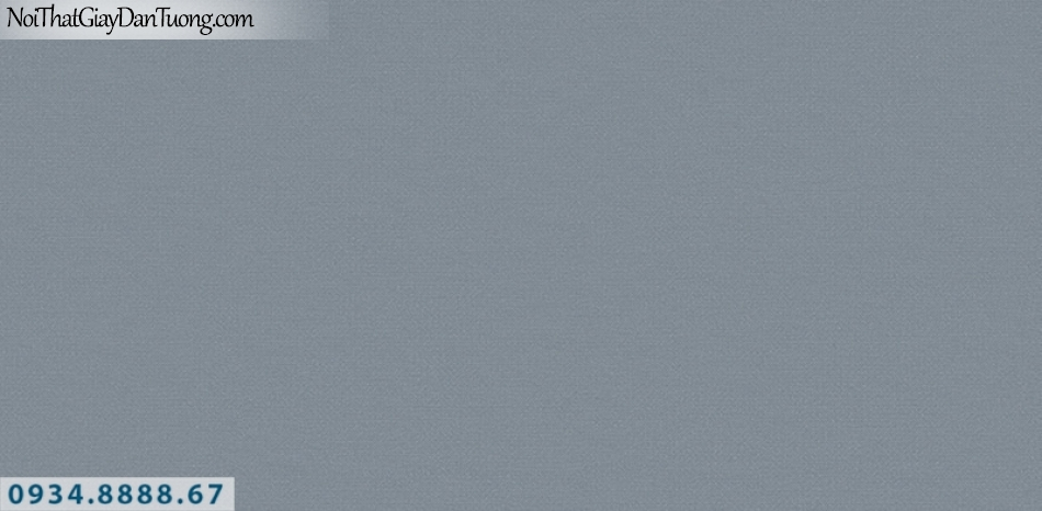 J100 2019 - 2020 | Giấy dán tường Hàn Quốc J100| giấy dán tường gân trơn màu xám xanh, màu xanh than 9403-8