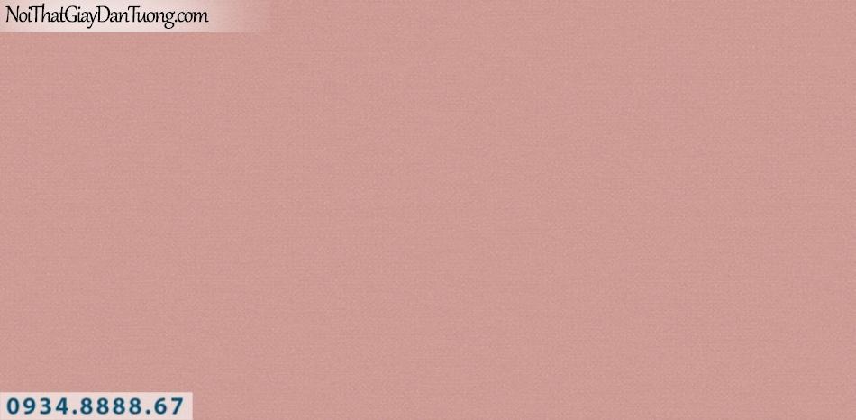 J100 2019 - 2020 | Giấy dán tường Hàn Quốc J100| giấy dán tường màu hồng, giấy gân trơn 9403-7