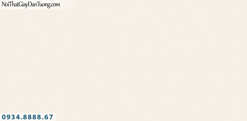 J100 2019 - 2020 | Giấy dán tường Hàn Quốc J100| giấy dán tường trơn gân màu kem 9403-2