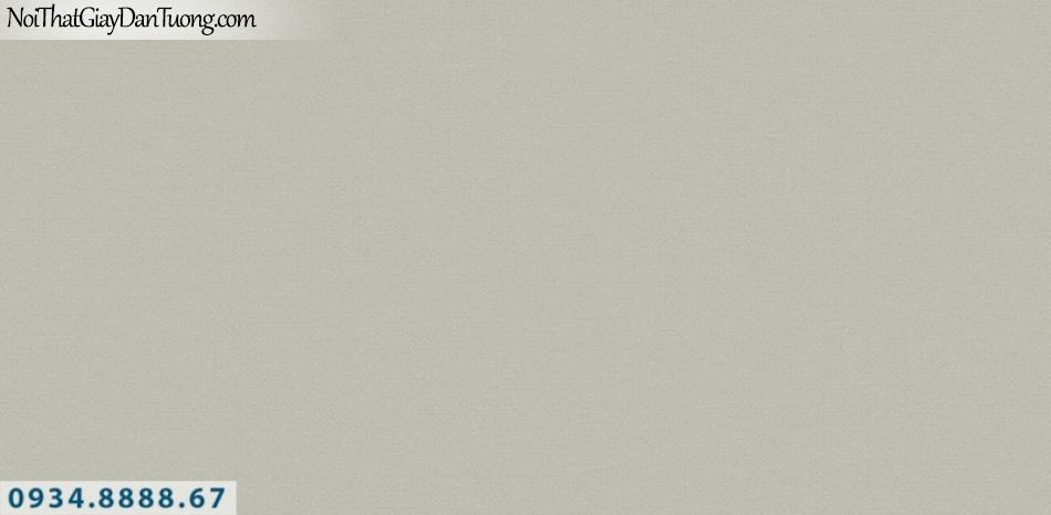 J100 2019 - 2020 | Giấy dán tường Hàn Quốc J100| giấy dán tường trơn gân màu xám xanh nhạt, xanh rêu 9403-6
