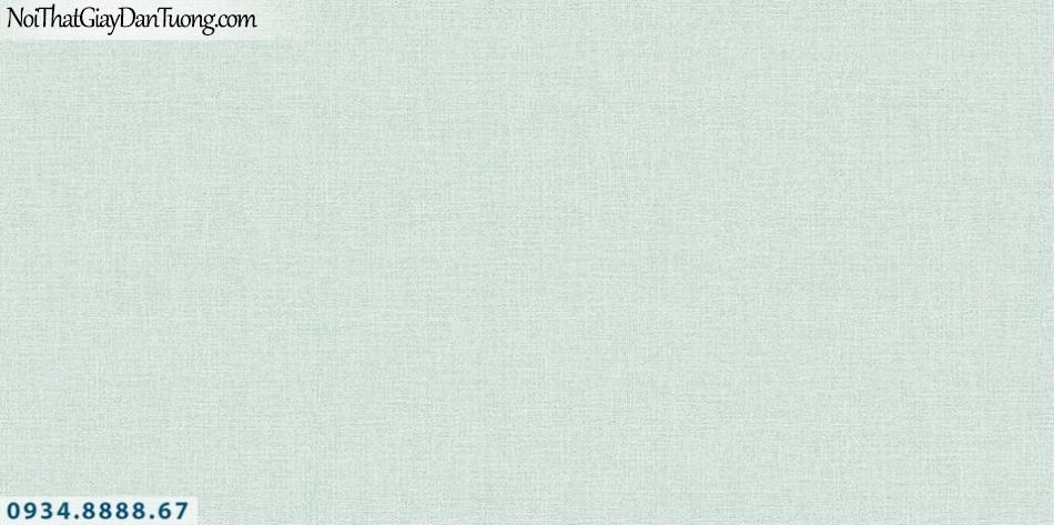 SOHO | Giấy dán tường SOHO 2019 - 2020 | Giấy dán tường gân trơn màu xanh, xanh lá, xanh ngọc, xanh chuối 56108-3