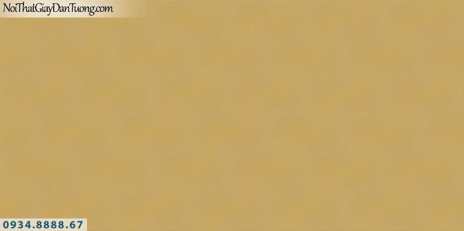 SOHO | Giấy dán tường SOHO 2019 - 2020 | Giấy dán tường màu vàng, kẻ ca rô xéo màu vàng đậm 56105-3