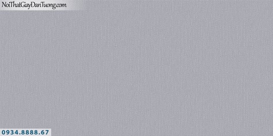 SOHO | Giấy dán tường SOHO 2019 - 2020 | giấy dán tường gân trơn màu xám tím, tím xám nhạt 56111-5