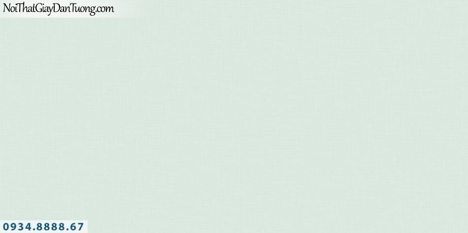 SOHO | Giấy dán tường SOHO 56113-6 | giấy dán tường gân trơn đơn sắc màu xanh cốm, xanh ngọc, xanh lá