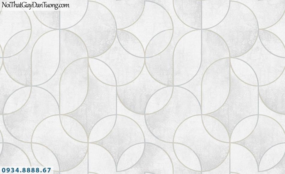 SOHO | Giấy dán tường SOHO 56118-1 | giấy dán tường họa tiết hoa văn màu xám