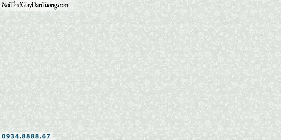 SOHO | Giấy dán tường SOHO 56120-3 | giấy dán tương bông hoa nhỏ màu xanh cốm, xanh ngọc, xanh lá