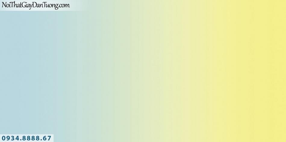 SOHO | Giấy dán tường SOHO 56122-1 | giấy dán tường 2 màu xanh vàng, màu blen, màu chuyển
