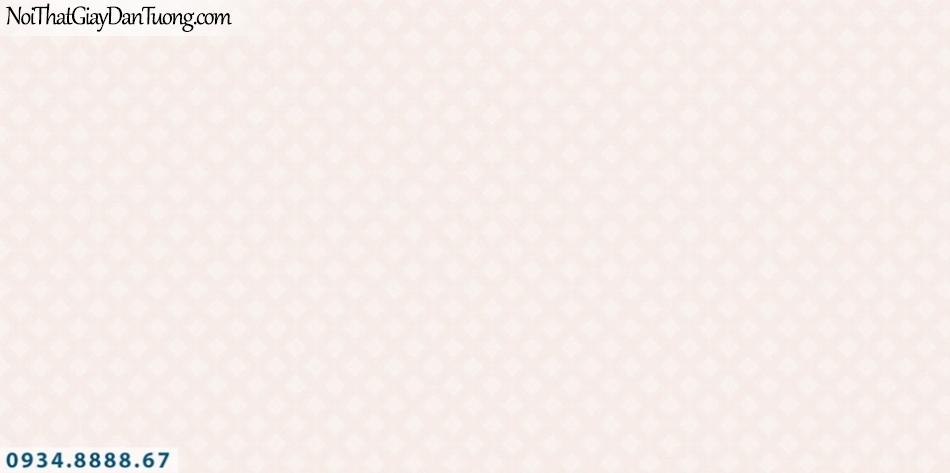SOHO | Giấy dán tường SOHO 56123-1 | giấy dán tường họa tiết ca rô màu hồng