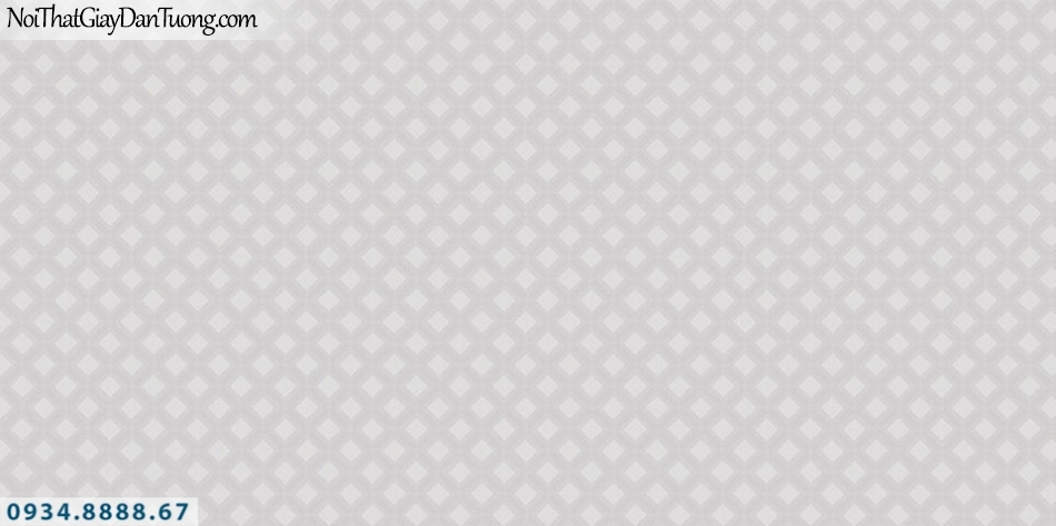 SOHO | Giấy dán tường SOHO 56123-3 | giấy dán tường màu xám hồng, họa tiết ca rô