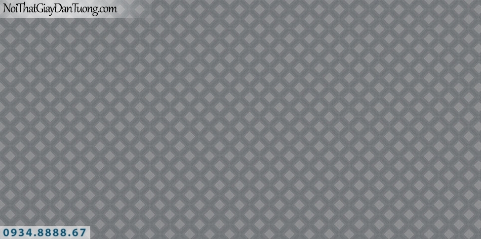 SOHO | Giấy dán tường SOHO 56123-4 | giấy dán tường ca rô màu xám