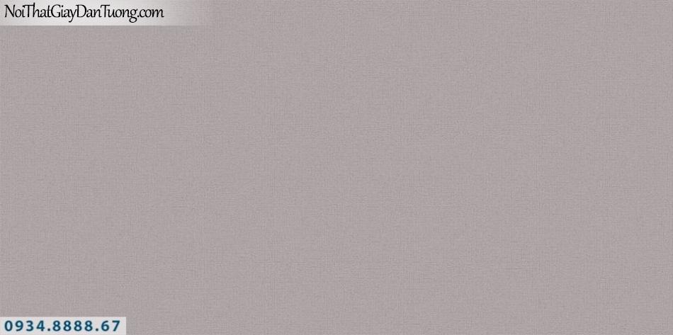 SOHO | Giấy dán tường SOHO 56128-10 | giấy dán tường màu xám tím, giấy gân trơn đơn sắc