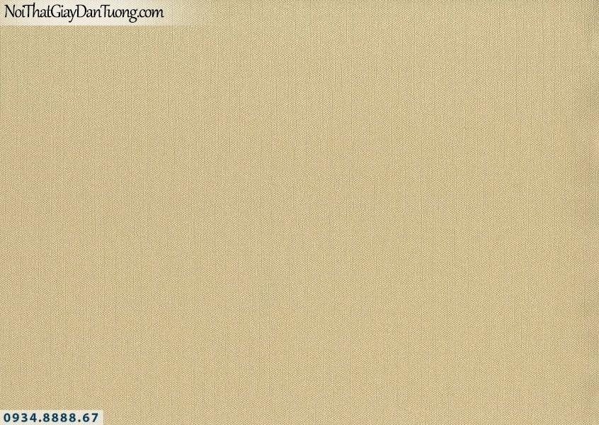 Lily | Giấy dán tường Lily 36015-6 | giấy dán tường gân trơn màu vàng, phù hợp căn hộ hiện đại
