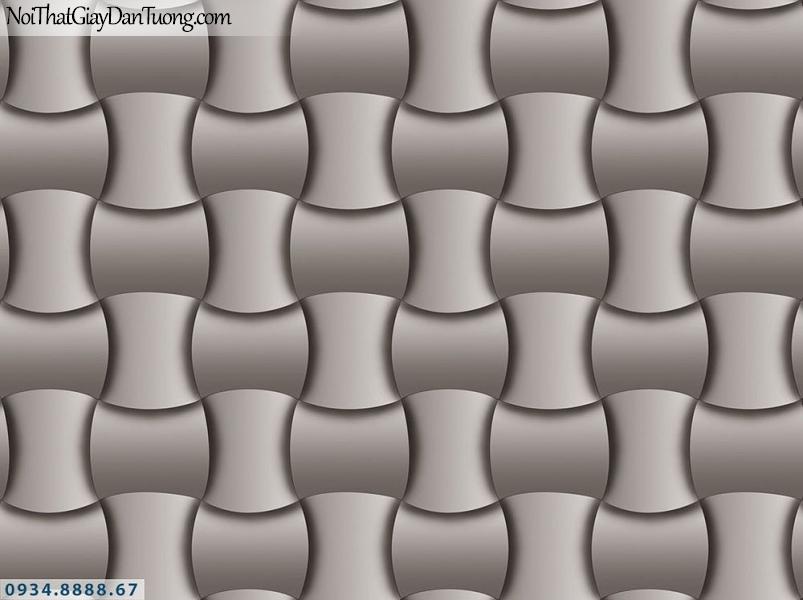 Martina | giấy dán tường Martina 19163 | giấy dán tường 3D màu xám bạc