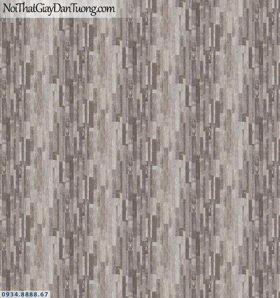 Martina | giấy dán tường Martina MR87313 | giấy dán tường họa tiết hình chữ nhật nhỏ xếp chồng lên nhau màu xám