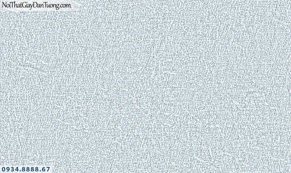 FLORIA | Giấy dán tường Floria 7703-3 | giấy dán tường dạng gân màu xanh dương, giả tường xây màu xi măng, giả màu bê tông