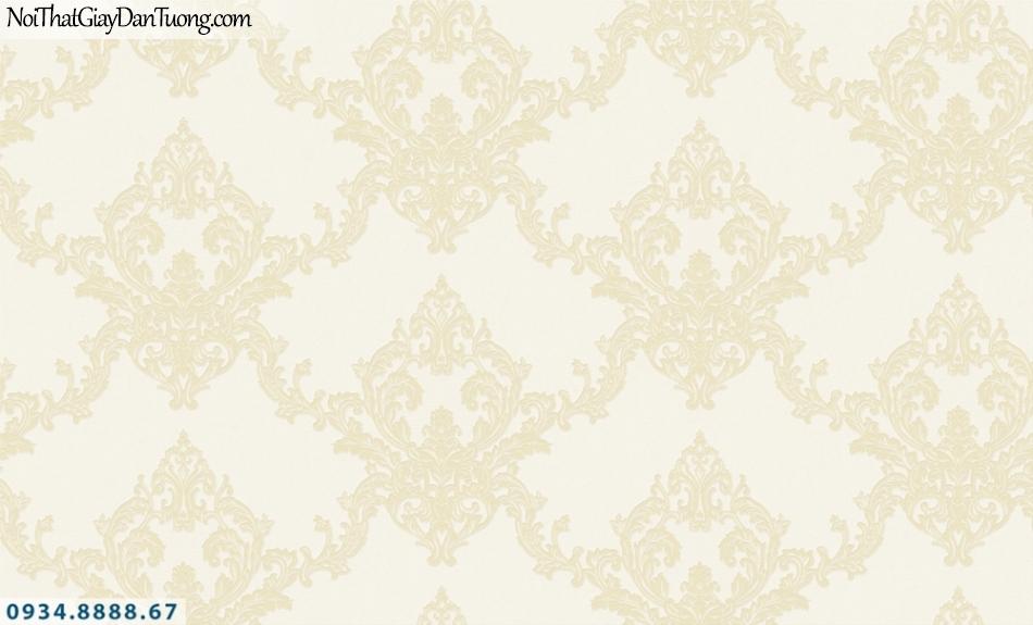 FIESTA | Giấy dán tường cổ điển màu vàng, họa tiết phong cách Châu Âu | Giấy dán tường Fiesta 23221