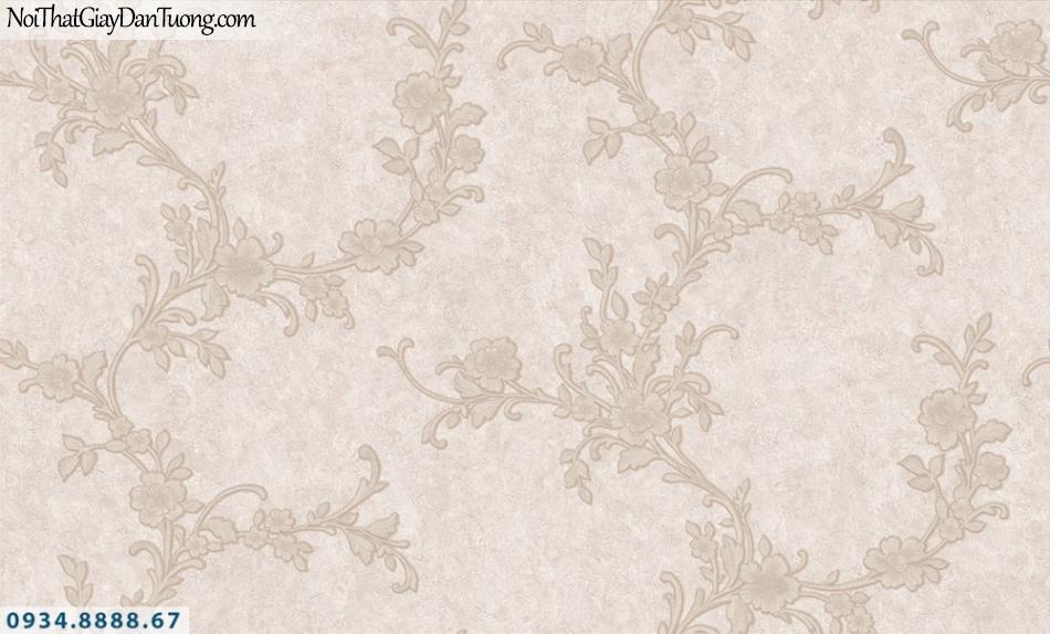 FIESTA | Giấy dán tường dạng dây hoa leo tường màu hồng đỏ | Giấy dán tường Fiesta 23253