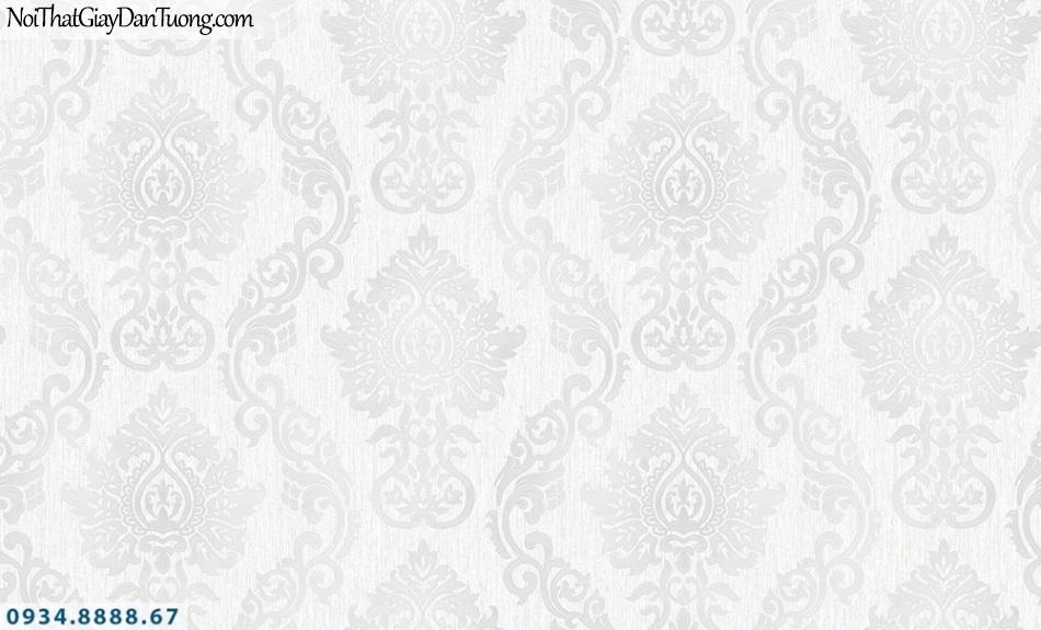 FIESTA | Giấy dán tường hoa văn cổ điển màu xám | Giấy dán tường Fiesta 23232