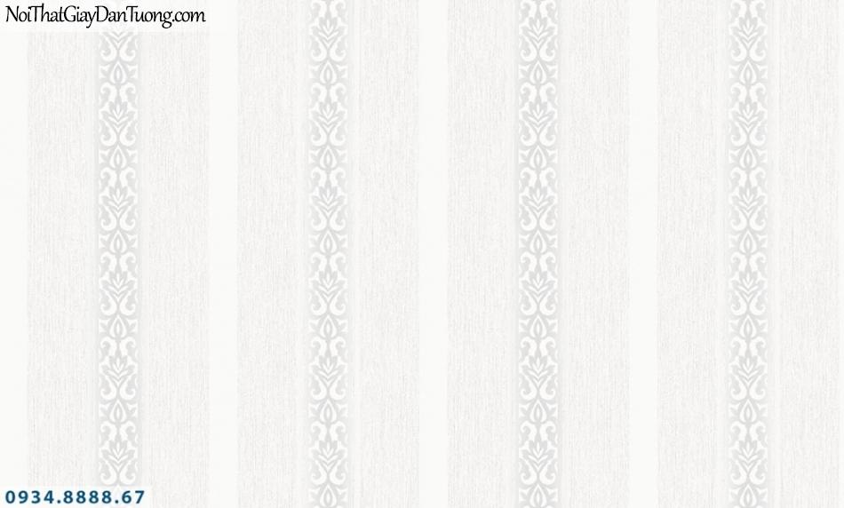 FIESTA | Giấy dán tường kẻ sọc màu xám, sọc to, sọc nhỏ đẹp, sọc thẳng đứng | Giấy dán tường Fiesta 23242