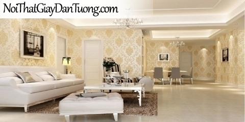 FIESTA | Giấy dán tường mà vàng kem, hoa văn họa tiết cổ điển | Giấy dán tường Fiesta 23231