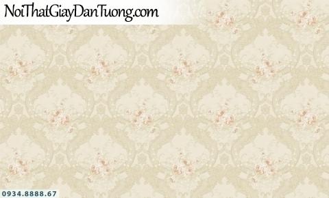 FIESTA | Giấy dán tường sọc màu vàng hồng, giấy kẻ sọc to, sọc nhỏ, sọc lớn | Giấy dán tường Fiesta 23244