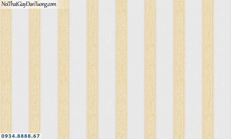 URANUS | Giấy dán tường sọc màu xám, xám vàng, giấy sọc đều thẳng đứng | Giấy dán tường Uranus 52036-5