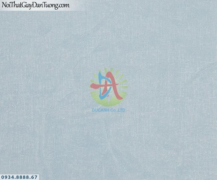 URANUS | Giấy dán tường gân trơn, gân sần màu xanh dương nhạt, giấy đơn sắc nhám | Giấy dán tường Uranus 52044-1