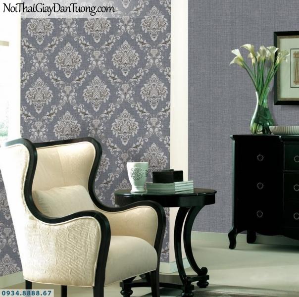 GRAVENTO | Giấy dán tường cổ điển màu xám, ấm áp nhẹ nhàng sang trọng | Giấy dán tường Gravento RA345652