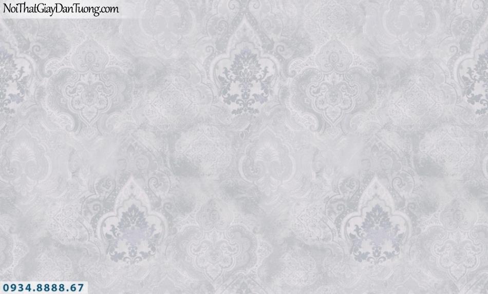 GRAVENTO | Giấy dán tường màu xám, hoa văn cổ điển phong cách Châu Âu | Giấy dán tường Gravento PM345803