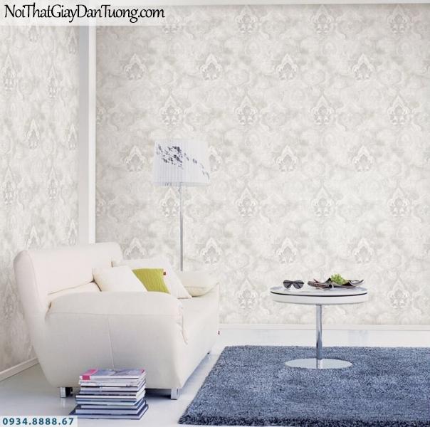 GRAVENTO | Giấy dán tường màu xám kiểu cổ điển, phòng khách, phòng ngủ đều đẹp | Giấy dán tường Gravento PM345814