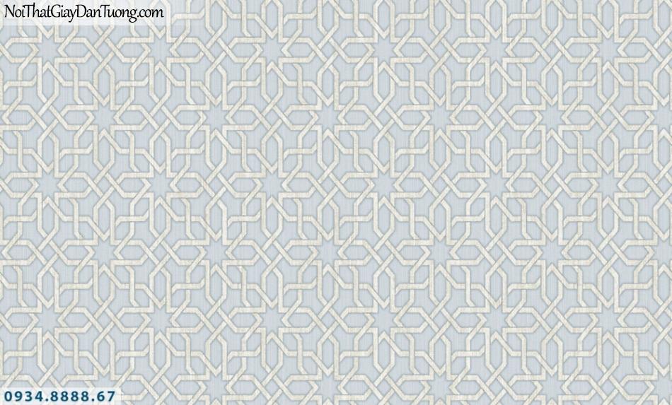 GRAVENTO | Giấy dán tường nền màu xám, họa tiết đi xéo ngang xéo dọc | Giấy dán tường Gravento RA345653