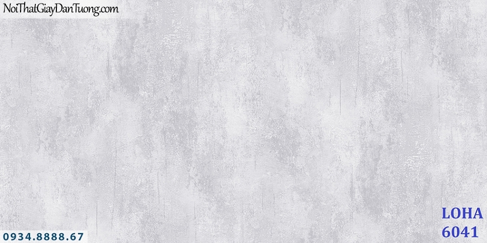 Giấy dán tường giả bê tông màu xám, giả xi măng màu xám, màu loang, màu xám trắng